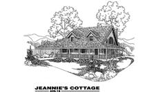Main image for house plan # 9062