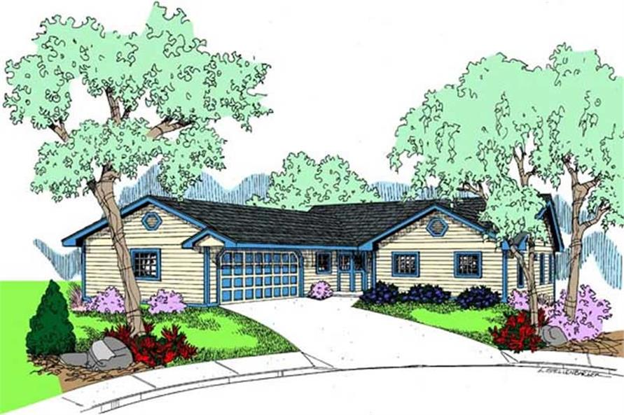 Main image for house plan # 9049