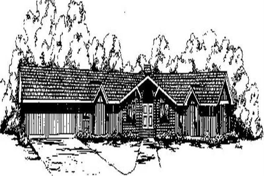 Main image for house plan # 8999