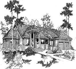 House Plan #145-1800