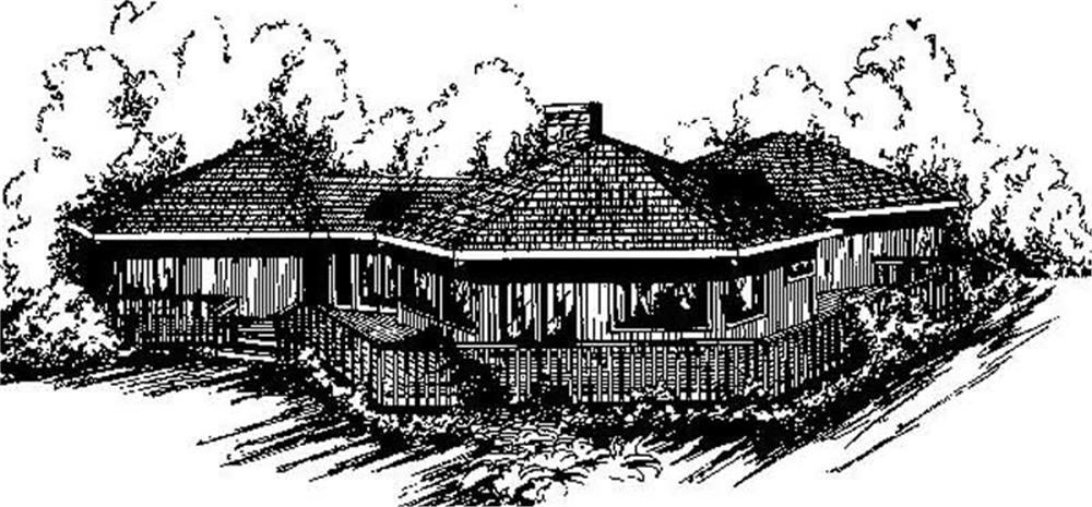 Main image for house plan #145-1803