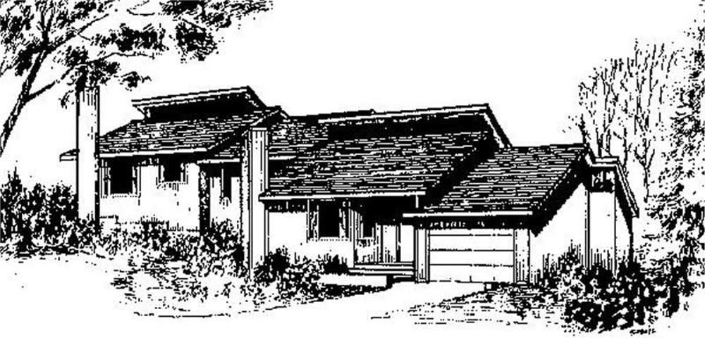 Multi-Unit home (ThePlanCollection: Plan #145-1809)