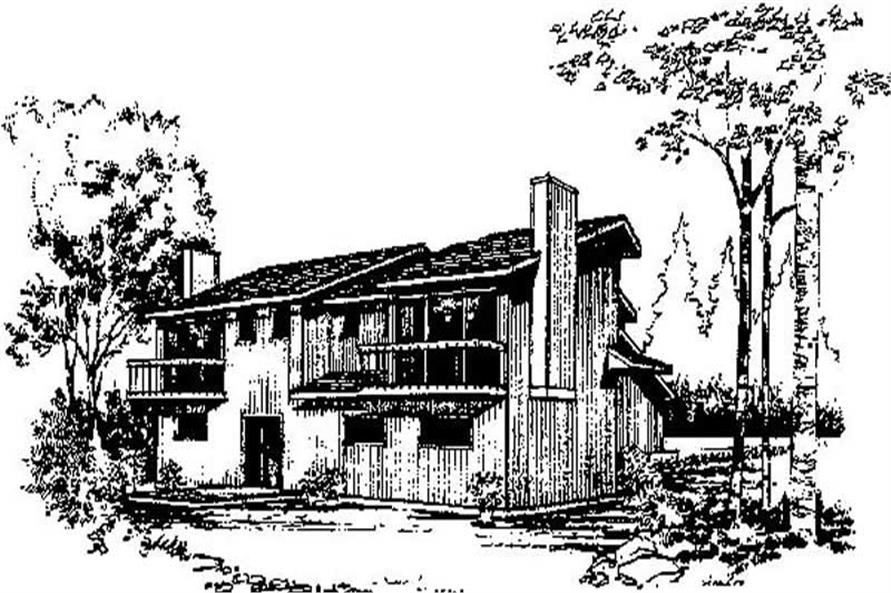 Main image for house plan # 8973