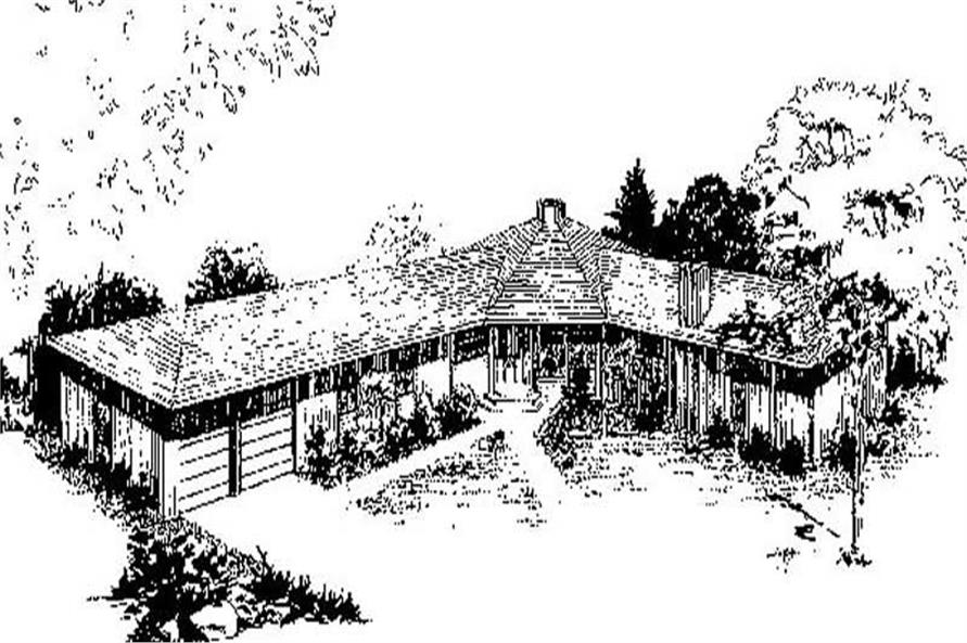 Main image for house plan # 8987