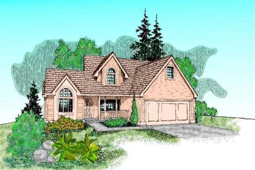 Main image for house plan # 9111