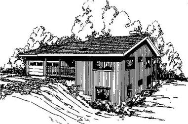 3-Bedroom, 1948 Sq Ft Traditional Home Plan - 145-1813 - Main Exterior