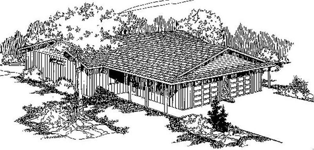 Multi-Unit home (ThePlanCollection: Plan #145-1815)
