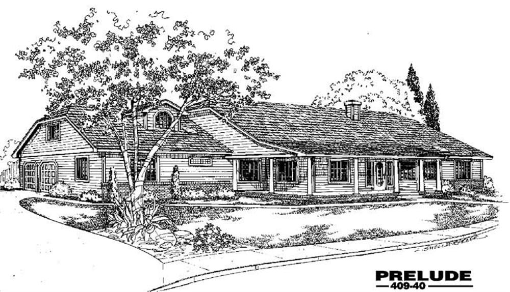 Main image for house plan # 9053