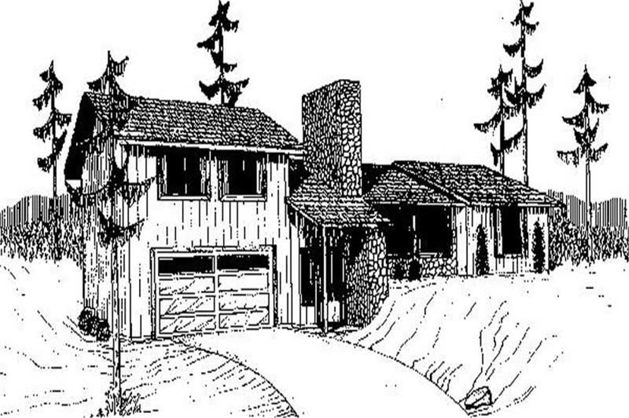 Main image for house plan # 8947
