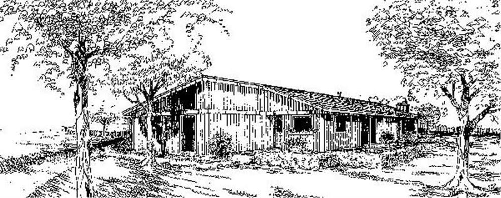 Main image for house plan # 8950