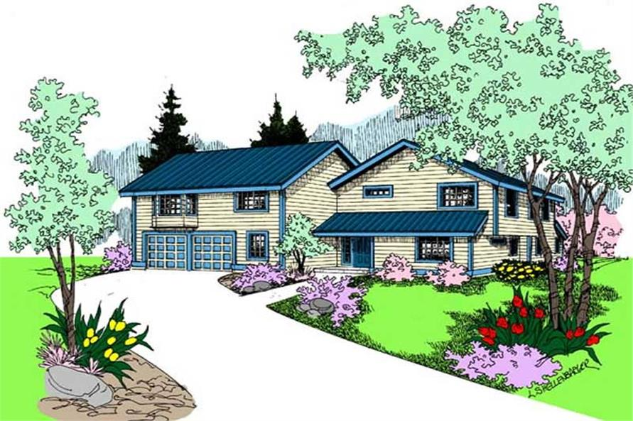Main image for house plan # 9101