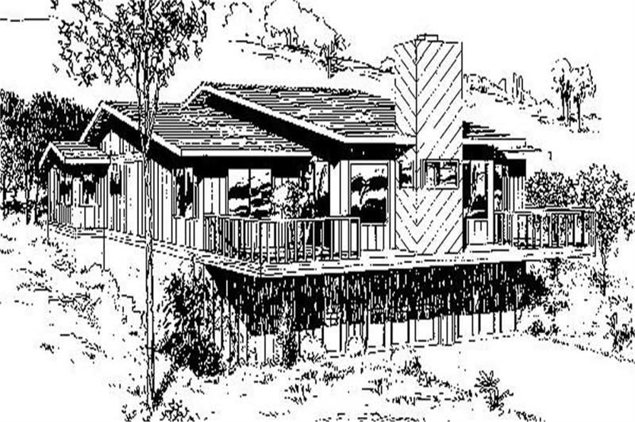 Main image for house plan # 8853