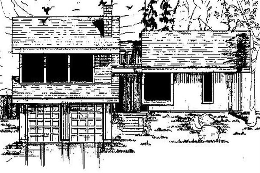 Main image for house plan # 8847