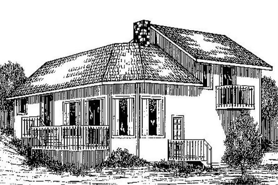 Main image for house plan # 8914