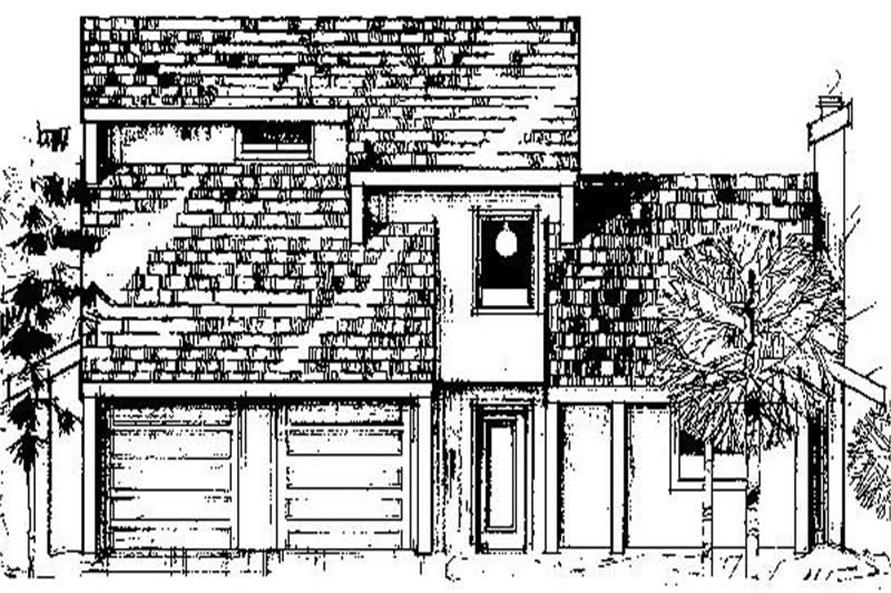 Main image for house plan # 8852