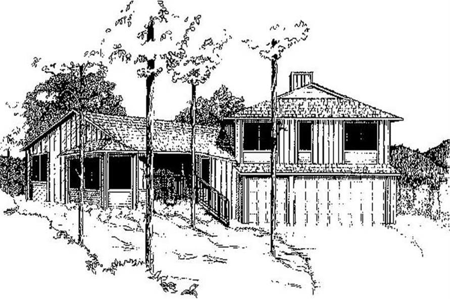 Main image for house plan # 8919