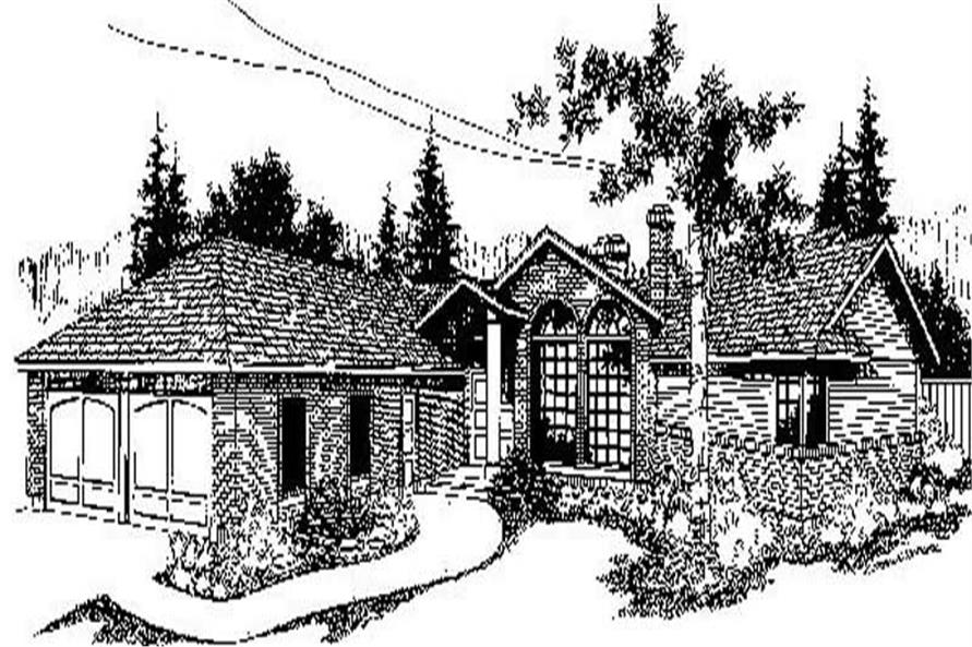 Main image for house plan # 9158