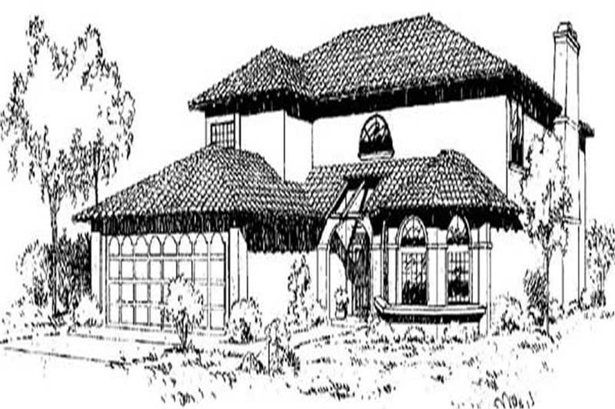 Main image for house plan # 8978