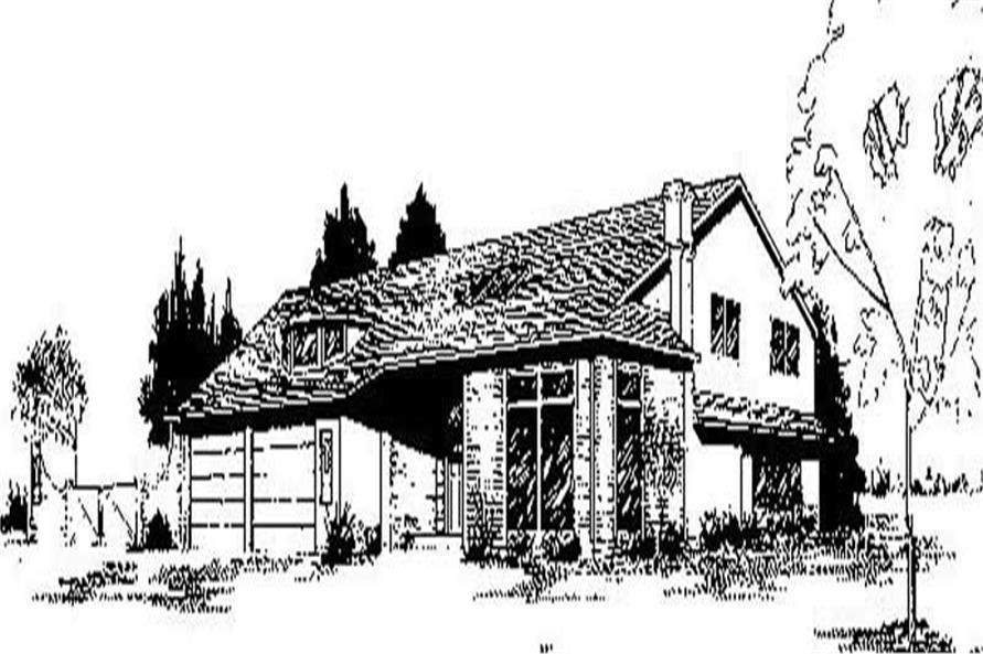 Main image for house plan # 8984