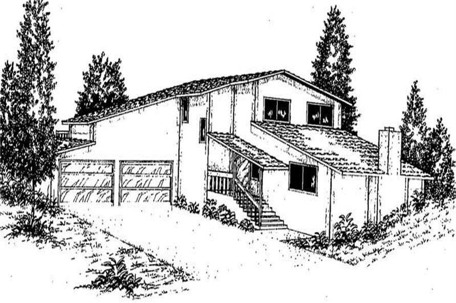 Main image for house plan # 8924