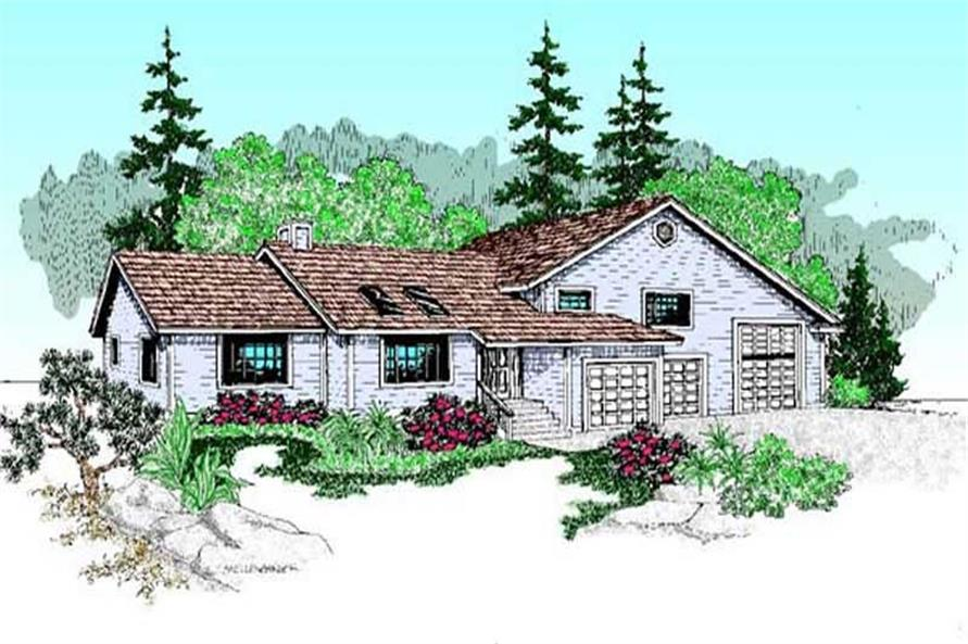 Main image for house plan # 9116