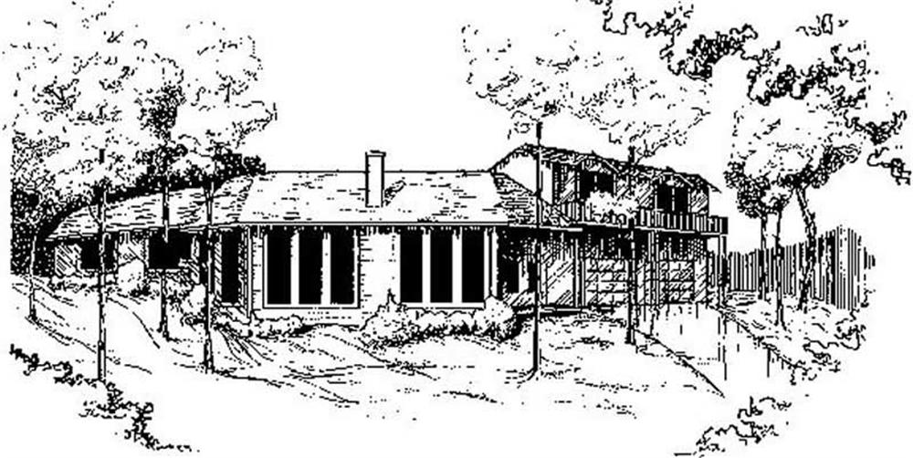 Main image for house plan # 8850