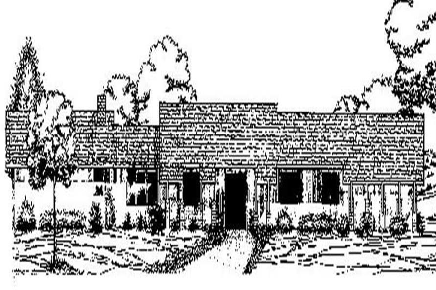 Main image for house plan # 8873
