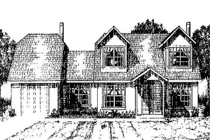Main image for house plan # 8911