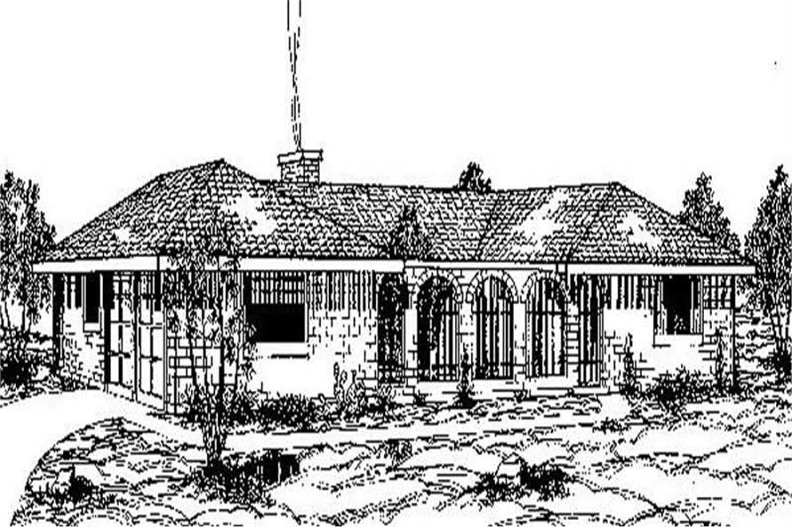 Main image for house plan # 8929