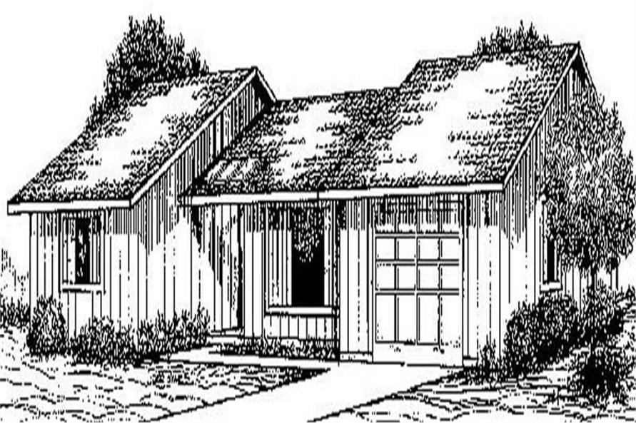 Main image for house plan # 8934