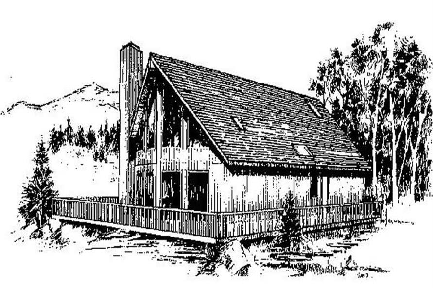Main image for house plan # 8966