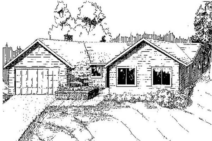 Main image for house plan # 8880
