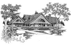 Main image for house plan # 9080