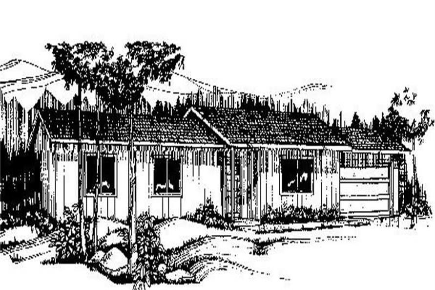 Main image for house plan # 8951
