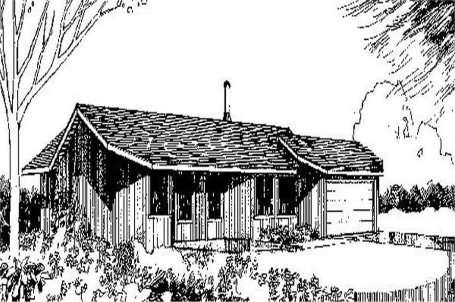 Main image for house plan # 9025