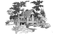 Main image for house plan # 9074