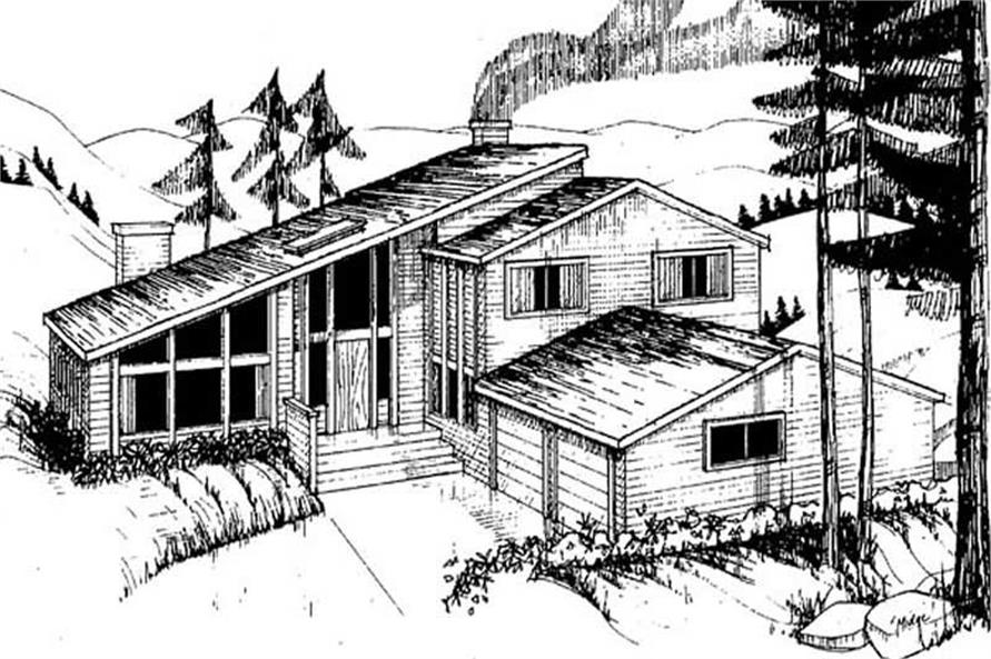 Main image for house plan # 8953