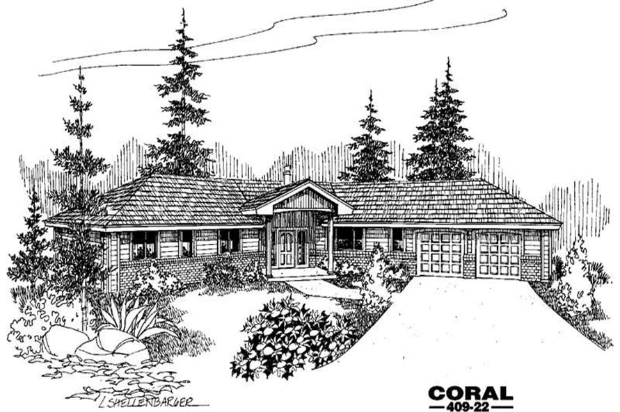 Main image for house plan # 9058