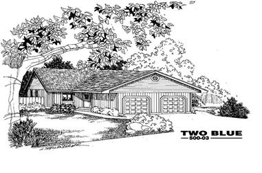 6-Bedroom, 2288 Sq Ft Multi-Unit Home Plan - 145-1955 - Main Exterior