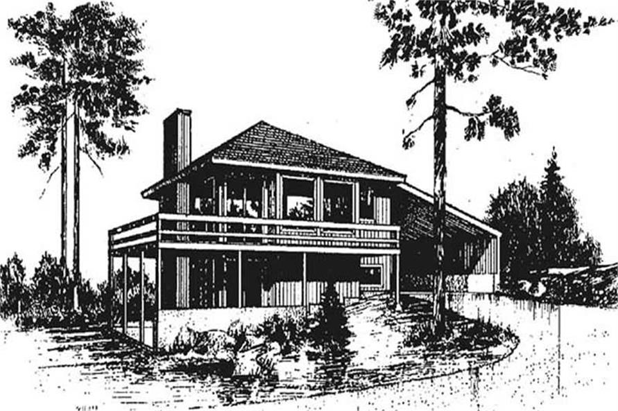 Main image for house plan # 9024