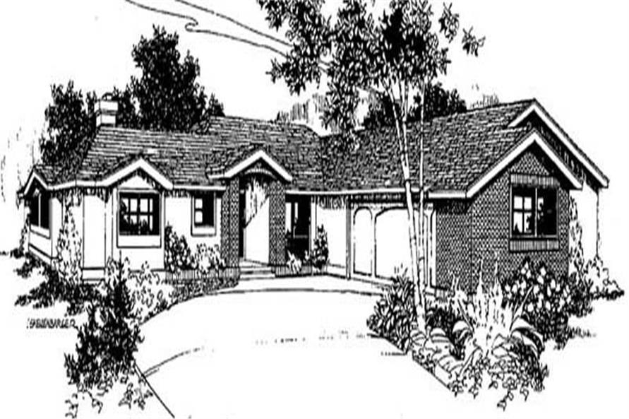 Main image for house plan # 9013