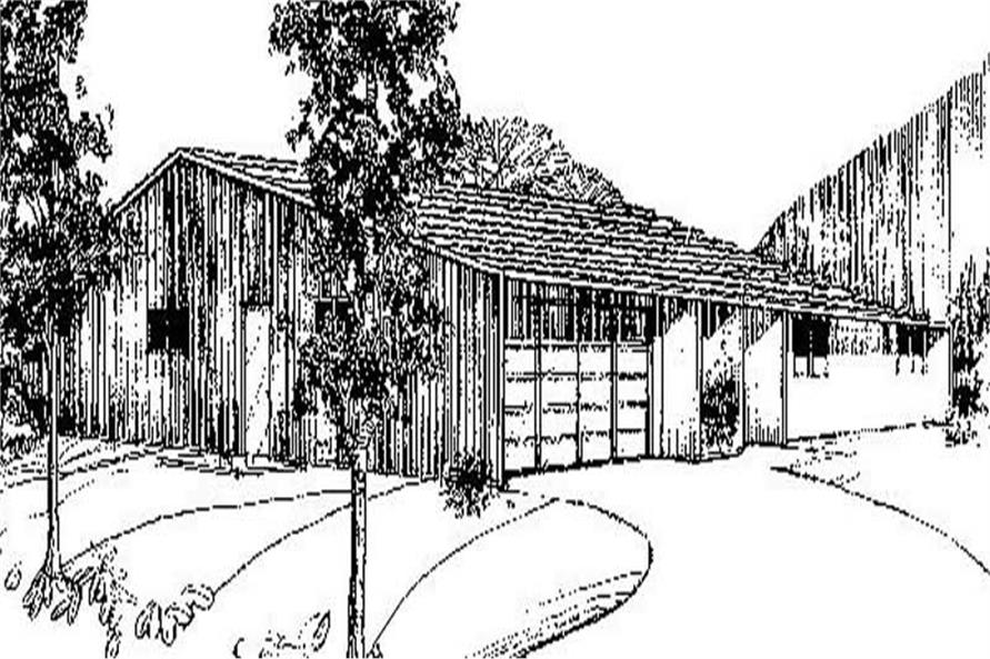Main image for house plan # 8864