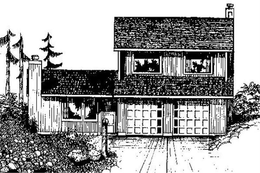 Main image for house plan # 8874