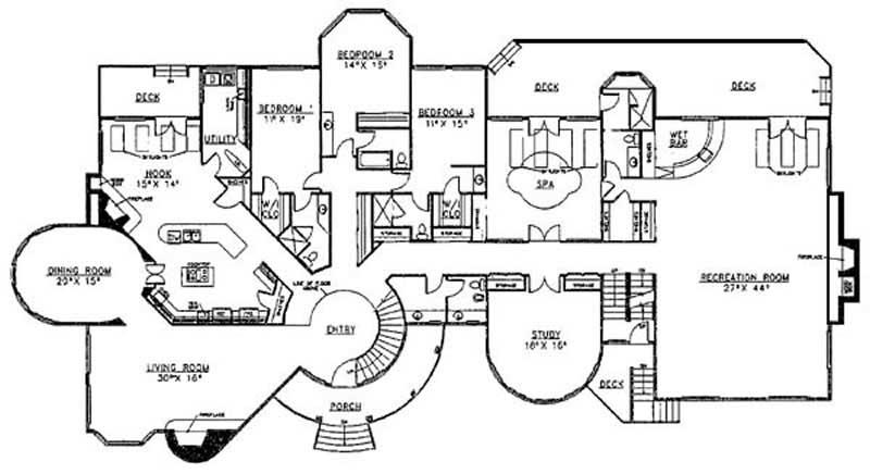 FLR_LR209-13fp1 Largest Floor Plan Mansion House on largest house floor plan, largest hotel floor plan, largest triple wide floor plans, largest manufactured home floor plan,