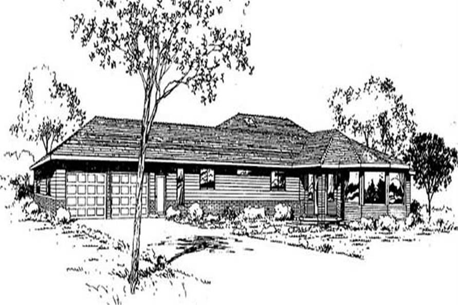 Main image for house plan # 9035