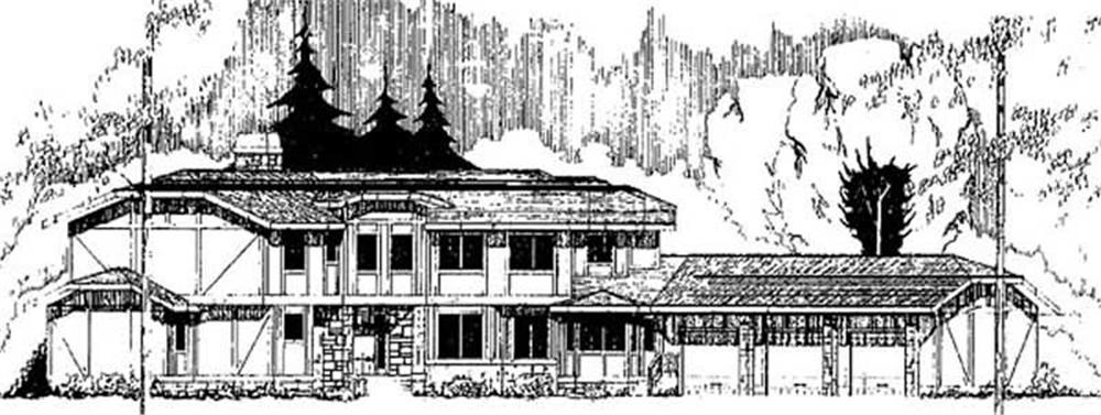 Main image for house plan # 9127