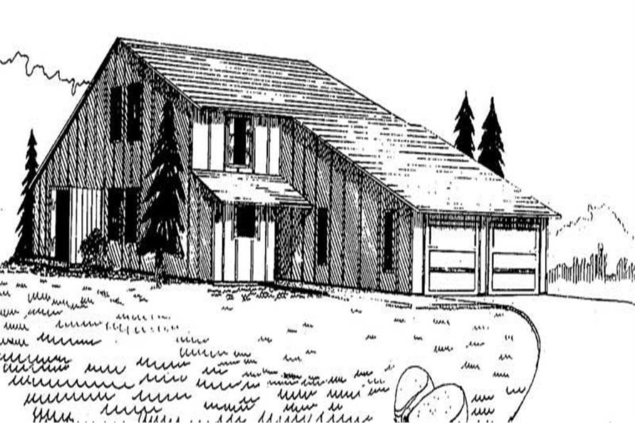 Main image for house plan # 8889