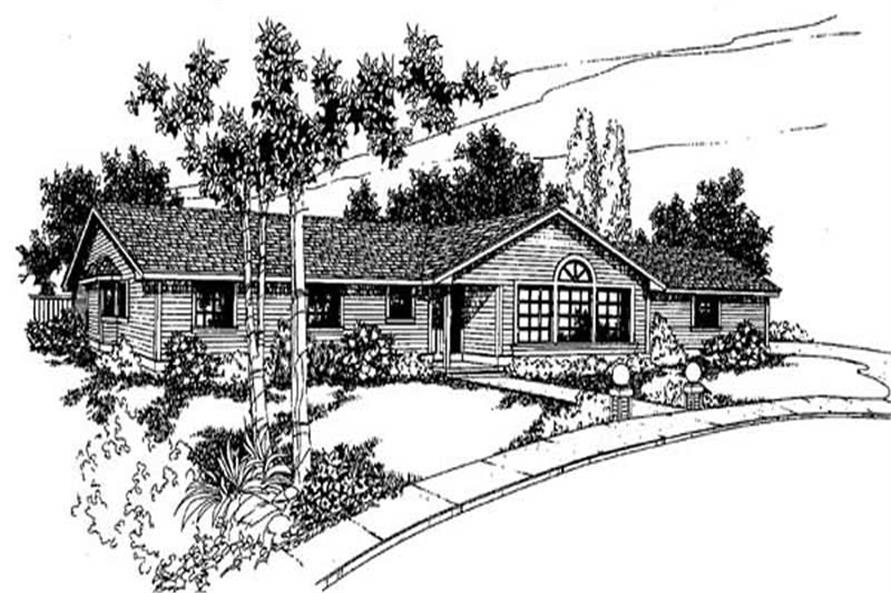 Main image for house plan # 9014