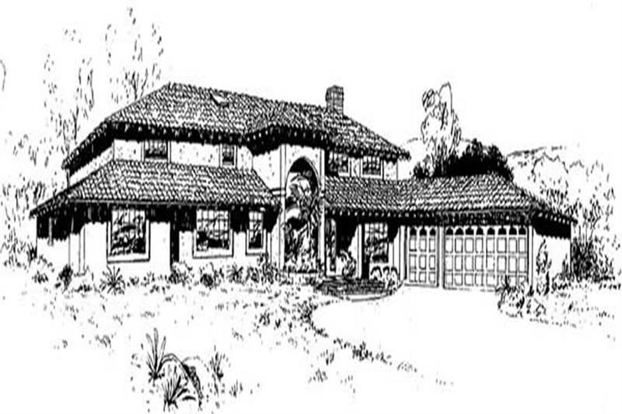 Main image for house plan # 9120