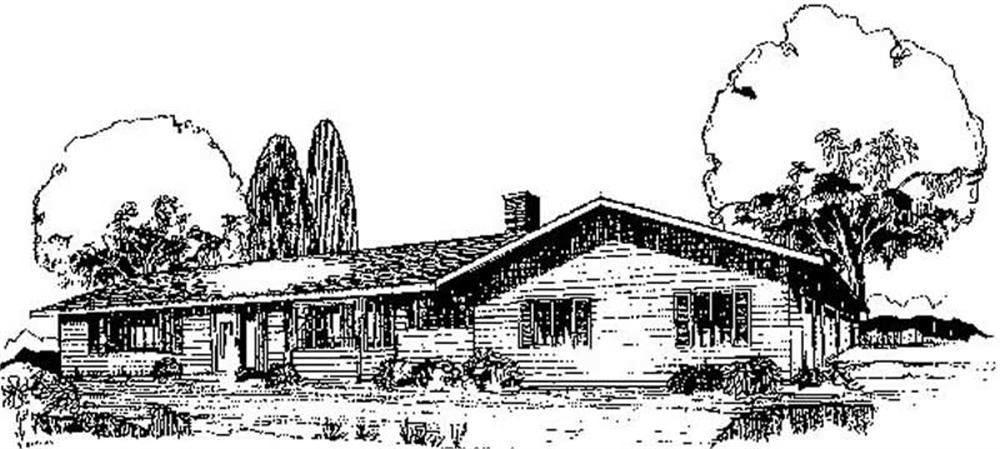 Main image for house plan # 8965